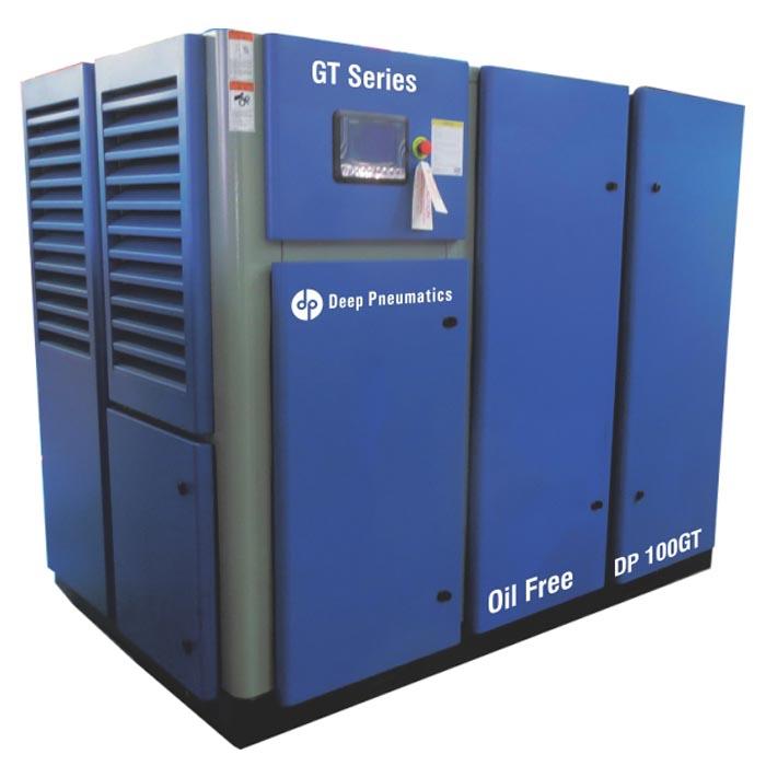 GT SERIES – OIL FREE SCREW AIR COMPRESSOR